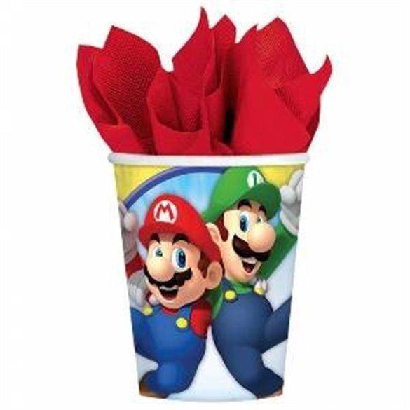 Vasos Super Mario Bros (8)