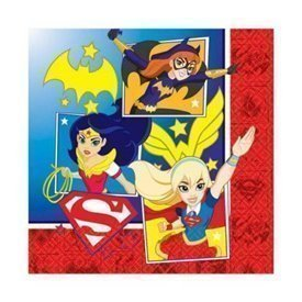 Servilletas Super Hero Girls (16)