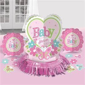 Kit decoracion mesa Baby shower Girl (23piezas)