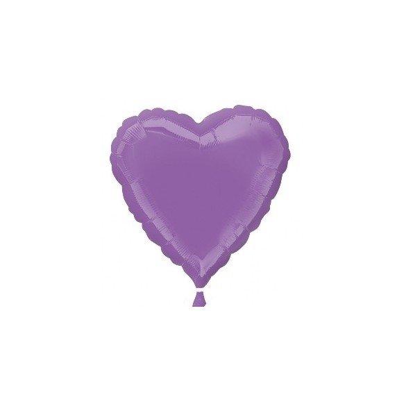 ✅Globo Con Forma de Corazón de Aprox 45cm Color SPRING LILAC por solo 1,50€ en Masfiesta.es. Venta de Artículos de fiesta y ...