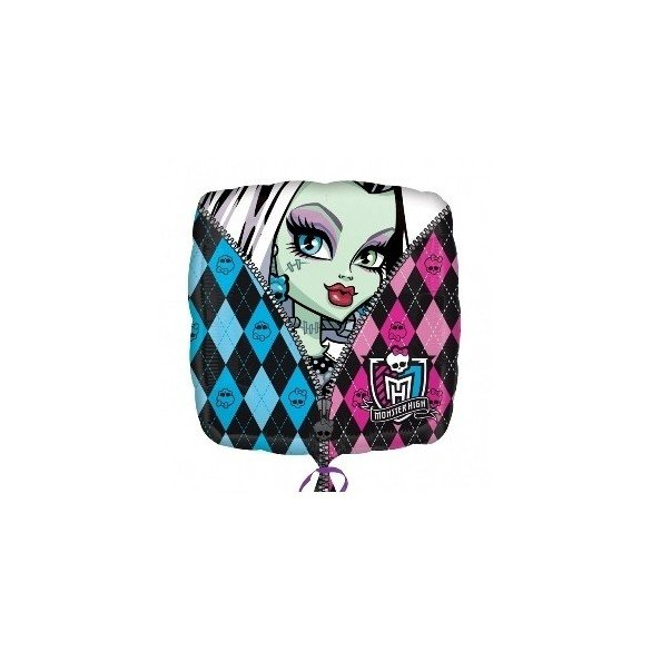 Globo Foil Monster High 45cm. ( Empaquetado)
