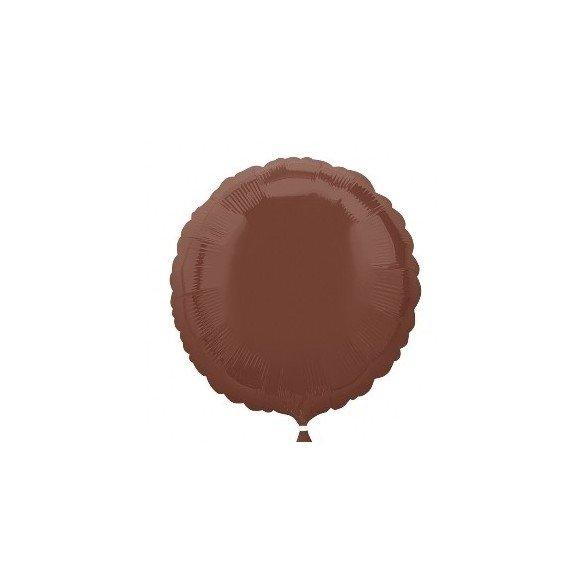 Globo Con Forma de Circulo de Aprox 45cm Color CHOCOLATE-