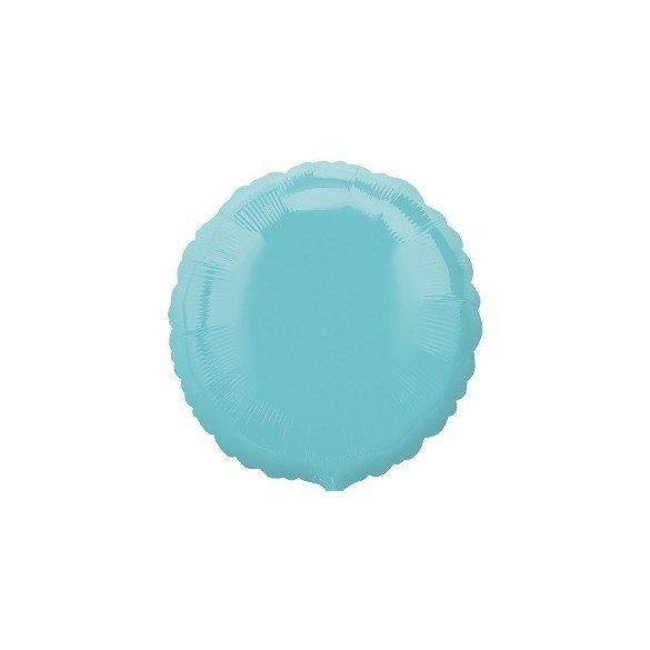 ✅Globo Con Forma de Circulo de Aprox 45cm Color ROBIN EGG BLUE- por solo 1,42€ en Masfiesta.es. Venta de Artículos de fiesta...
