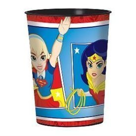 Vaso plastico Super Hero Girls (1)