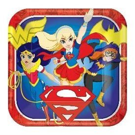 Platos Super Hero Girls 23 cm (8)