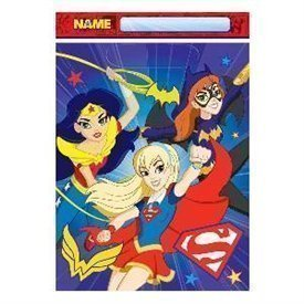 Bolsas Chuches/Juguetes Super Hero Girls (8)