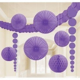 Kit Decoracion Color Morado Por Solo 1135 Envio 24h