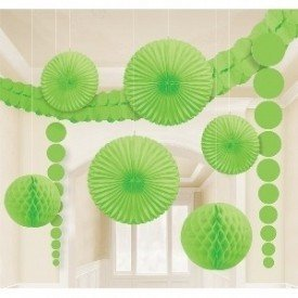 Kit Decoracion Color Verde