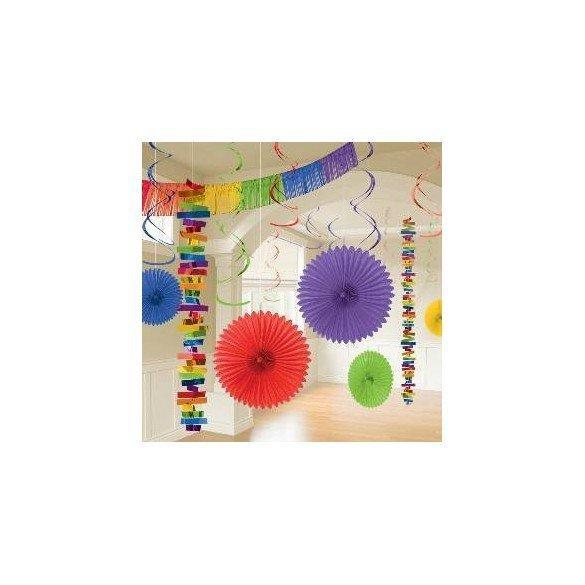 Kit Decoracion Color Multicolor