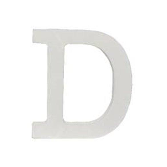 ✅Letra D de Madera de 11 cm Aprox por solo 1,75€ en Masfiesta.es. Venta de Artículos de fiesta y decoración