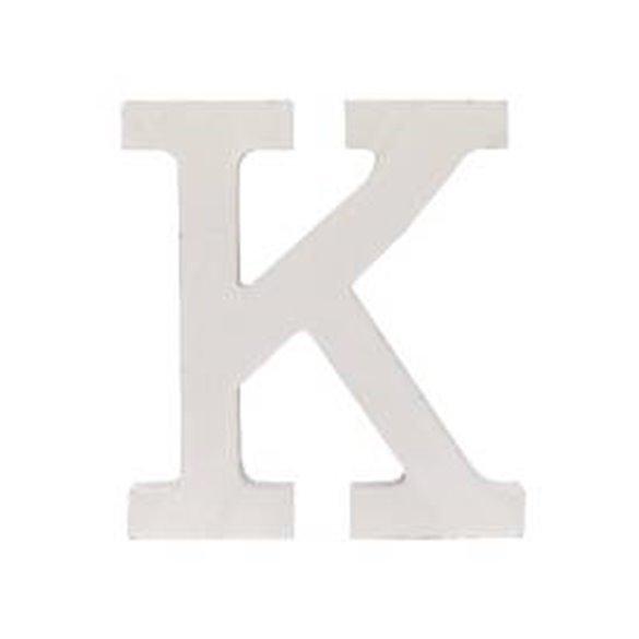 ✅Letra K de Madera de 11 cm Aprox por solo 1,75€ en Masfiesta.es. Venta de Artículos de fiesta y decoración