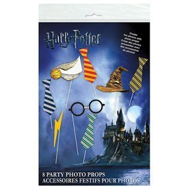 Accesorios Photocall Harry Potter (8 pza)