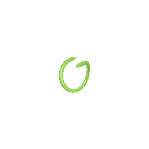 ✅Globos Moldeables de (260) 5 cm x 15 cm Color Verde Lima Solido (50 ud) por solo 4,51€ en Masfiesta.es. Venta de Artículos ...