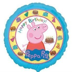 Globo Peppa Pig Happy Birthday 45cm