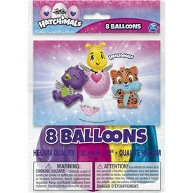 Globos latex Hatchimals (8)