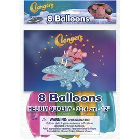 Globos latex Clangers (8)
