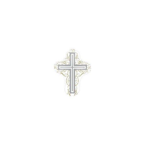 ✅Globo Foil Boda Forma de Cruz (sin Inflar) por solo 5,18€ en Masfiesta.es. Venta de Artículos de fiesta y decoración