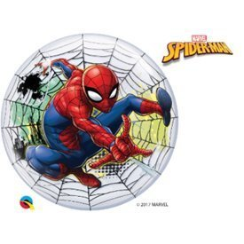 Globo Spiderman Burbuja Bubble de 56cm