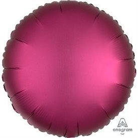 Globo Circulo color satin Granate de 45cm