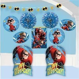 Kit decoración Los Increibles280091 Amscan