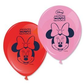 Globos latex Minnie Disney Dots (8)