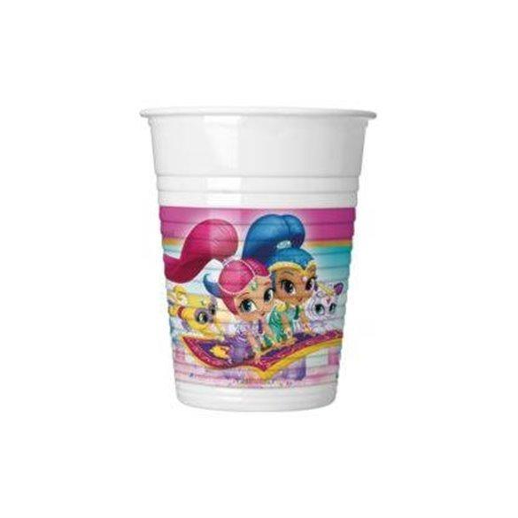 ✅Vasos Shimmer & Shine Friends (8) por solo 1,58€ en Masfiesta.es. Venta de Artículos de fiesta y decoración