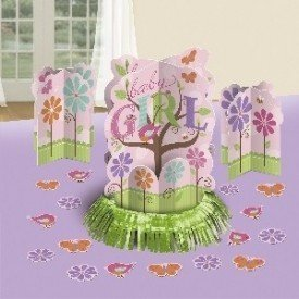 Kit Decoracion Mesa Baby Pink