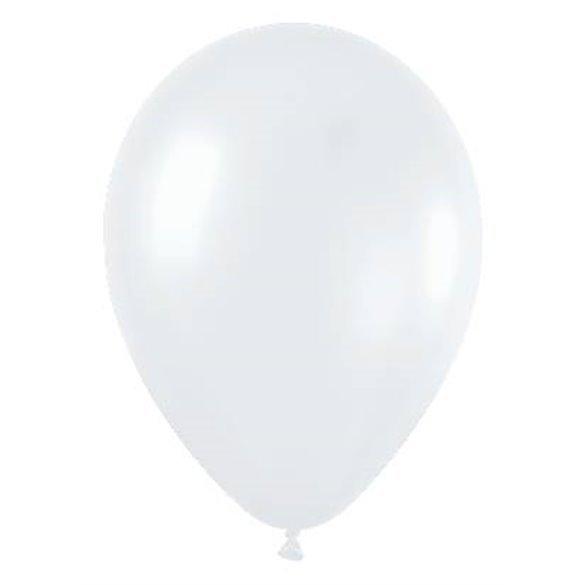 ✅Globos de 30 cm aprox Color Blanco Satinado-Cristal (50 ud) por solo 6,26€ en Masfiesta.es. Venta de Artículos de fiesta y ...