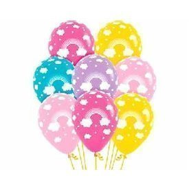 Globos latex Arco Iris en colores surtidos (12)R12-ARCO Sempertex
