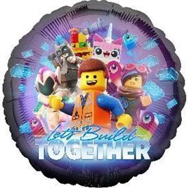 Globo foil Lego Movie 2 de 45cm