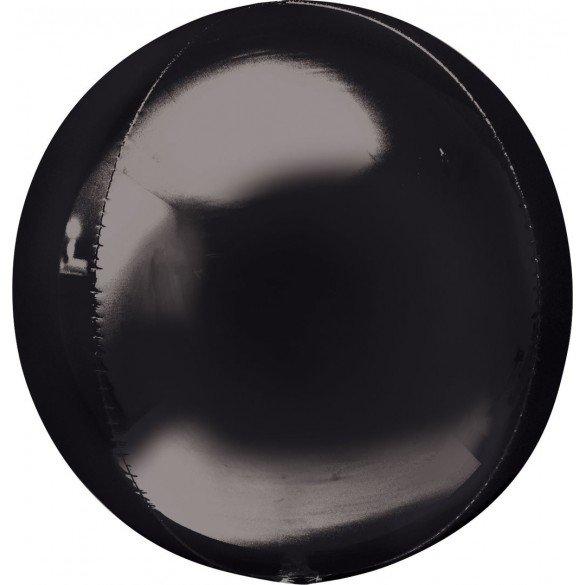 ✅Globo Forma Esfera de 40 cm Color NEGRO por solo 4,49€ en Masfiesta.es. Venta de Artículos de fiesta y decoración