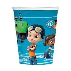 Vasos Rusty Rivets de 250ml (8)9904158 Amscan