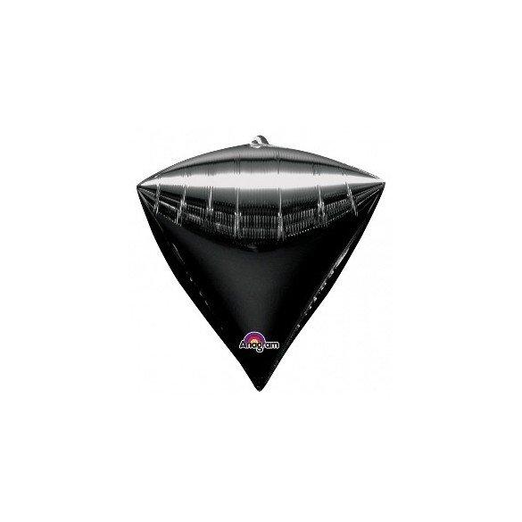 ✅Globo Forma Diamante de 43 cm aprox Color NEGRO por solo 4,49€ en Masfiesta.es. Venta de Artículos de fiesta y decoración