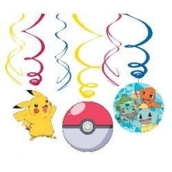 Decoracion espirales Colgante Pokemon (6)