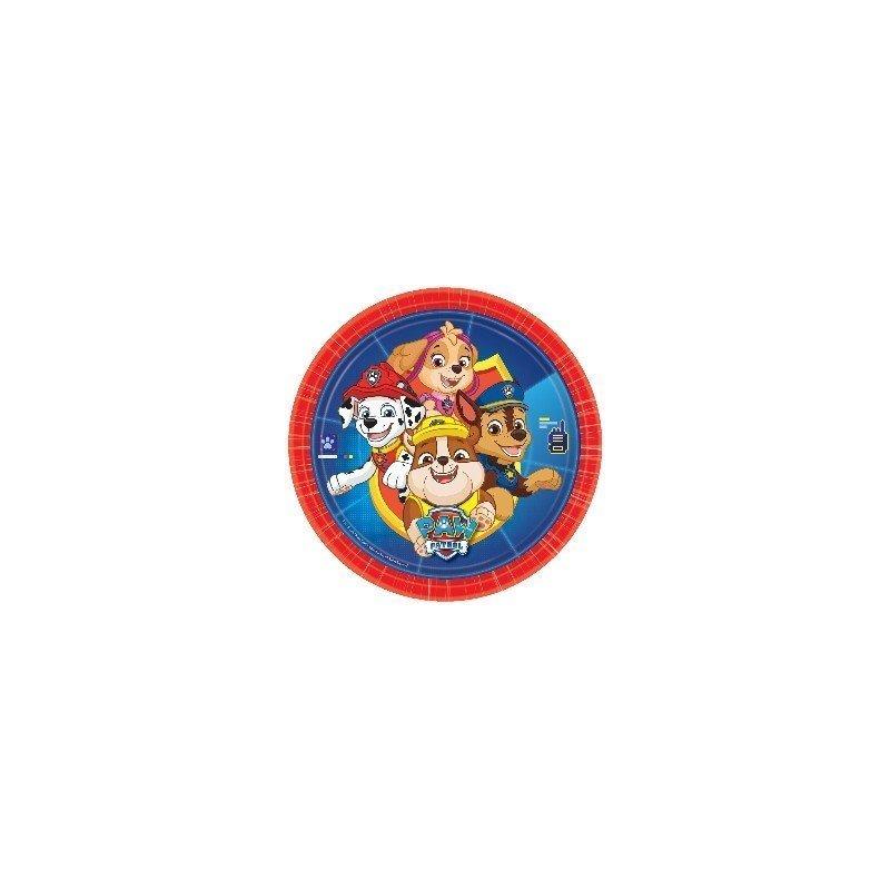 ✅Platos Patrulla Canina, 23 cm (8) por solo 2,61€ en Masfiesta.es. Venta de Artículos de fiesta y decoración