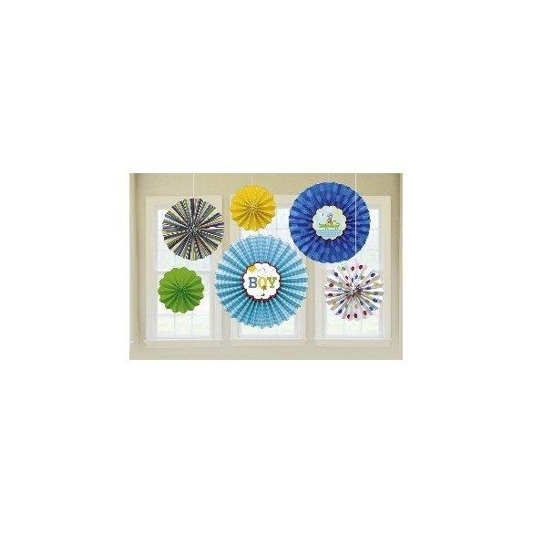 ✅Farolillos Colgantes (6) Baby Blue por solo 9,59€ en Masfiesta.es. Venta de Artículos de fiesta y decoración