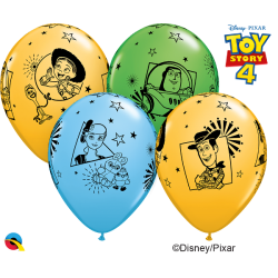 Globos Latex Toy Story (6)