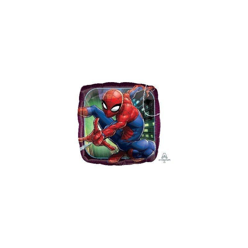 ✅Globo Foil Spiderman 45cm por solo 3,09€ en Masfiesta.es. Venta de Artículos de fiesta y decoración