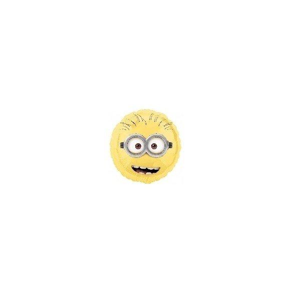 ✅Globo Foil Minions Cara 45cm. ( Empaquetado) por solo 2,70€ en Masfiesta.es. Venta de Artículos de fiesta y decoración