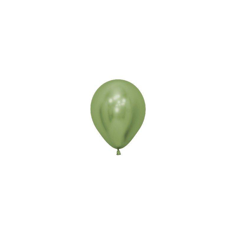 ✅Globos látex Reflex Verde Lima de 12.5cm (50 ud) por solo 6,75€ en Masfiesta.es. Venta de Artículos de fiesta y decoración