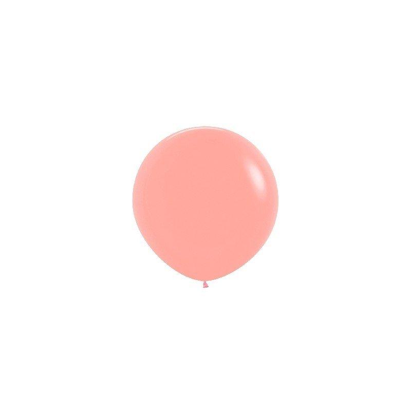 Globos (R-36) de 90 cm aprox Color Curuba Solido (10 ud)