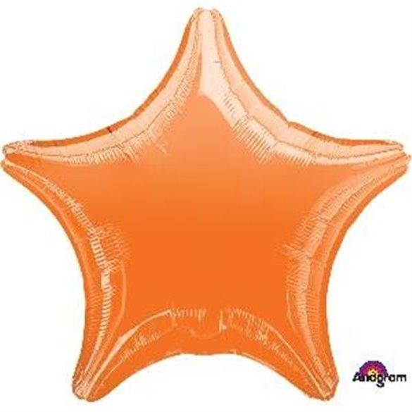 ✅Globo Con Forma de Estrella de Aprox 47cm Color NARANJA - por solo 1,19€ en Masfiesta.es. Venta de Artículos de fiesta y de...