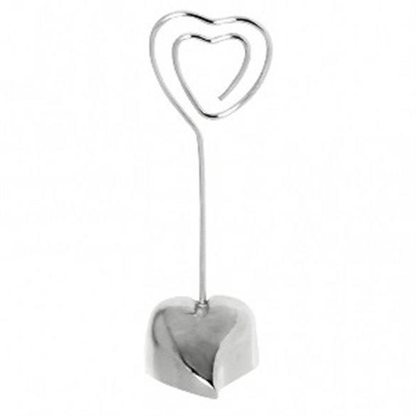 ✅Soporte Corazon enamorado mesa Bodas (10,8 cm) por solo 4,27€ en Masfiesta.es. Venta de Artículos de fiesta y decoración