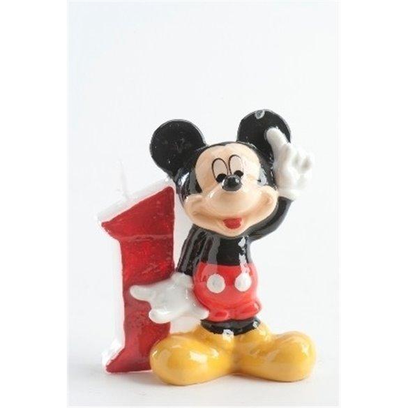 ✅Velas Mickey 1 por solo 2,21€ en Masfiesta.es. Venta de Artículos de fiesta y decoración