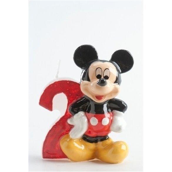 ✅Velas Mickey 2 por solo 2,21€ en Masfiesta.es. Venta de Artículos de fiesta y decoración