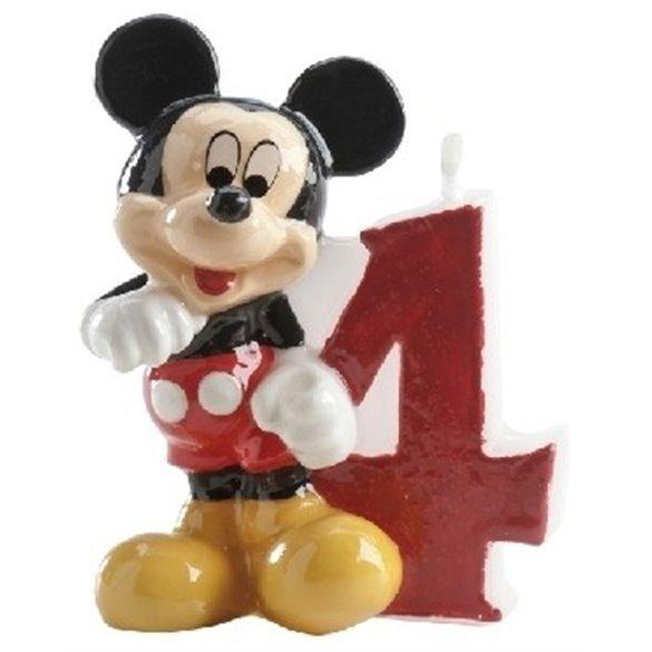 ✅Velas Mickey 4 por solo 2,21€ en Masfiesta.es. Venta de Artículos de fiesta y decoración