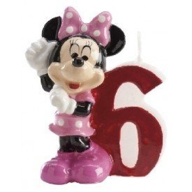 Velas Minnie 6