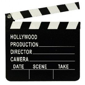 Cartel Hollywood Director (17.8cm x 20.3cm)348715 Amscan