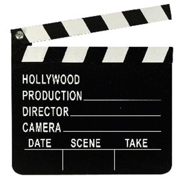✅Cartel Hollywood Director (17.8cm x 20.3cm) por solo 3,56€ en Masfiesta.es. Venta de Artículos de fiesta y decoración