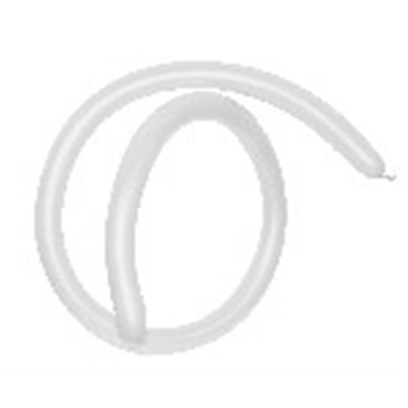 Globos Moldeables de (360) 7,5 cm x 15 cm Color Blancos Solidos (20 ud)